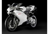 DUCATI   Front + links, , Weiss