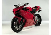 DUCATI 1098  Front + links, , Rot