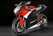 DUCATI 848  Front + links, , Rot