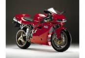 DUCATI 996  Front + rechts, , Rot