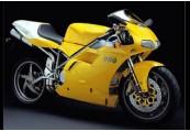 DUCATI 996  Front + rechts, , Gelb