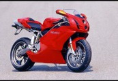 DUCATI 999  Front + rechts, , Rot