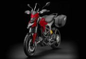 DUCATI HYPERSTRADA  Front + links, , Rot