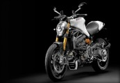 DUCATI MONSTER 1200  Front + links, , Weiss
