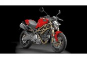 DUCATI MONSTER 696  Front + rechts, , Rot