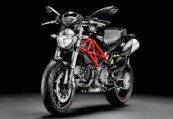 DUCATI MONSTER 796  Front + links, , Schwarz