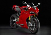 DUCATI PANIGALE  Front + rechts, , Rot