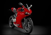 DUCATI PANIGALE 899  Front + rechts, , Rot
