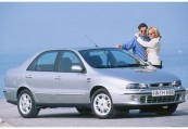 FIAT   Front + rechts, Sedan, Silbergrau