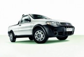 FIAT   Front + links, Pick up, Weiss