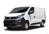 FIAT   Avant + gauche, Panel Van, Blanc
