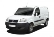 FIAT   Anteriore + sinistra, Panel Van, Bianco