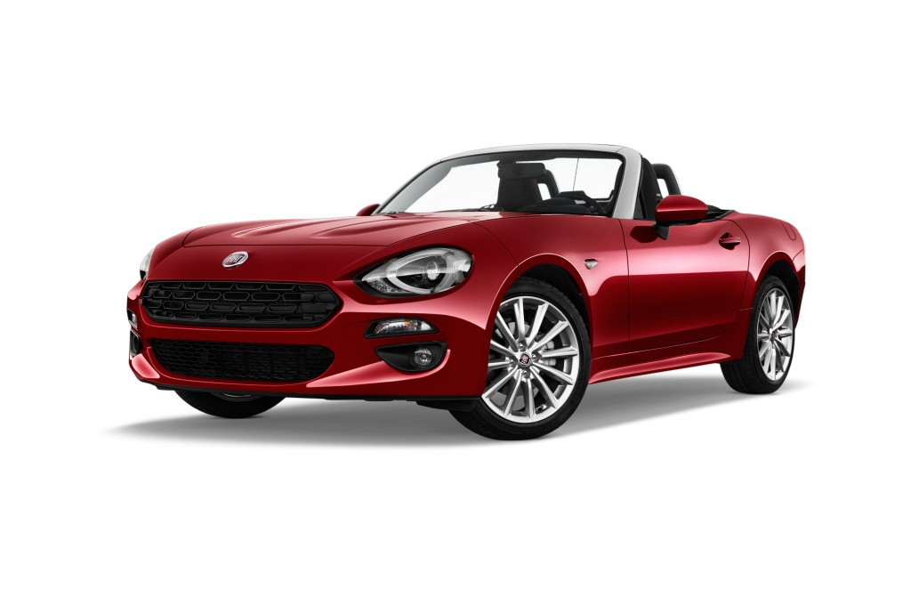 fiat 124 spider voiture neuve images. Black Bedroom Furniture Sets. Home Design Ideas