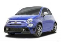 FIAT 500 Abarth Cabriolet Front + links, Hatchback, Blau