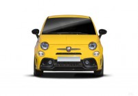 FIAT 500 Abarth Microklasse Front + links, Hatchback, Gelb