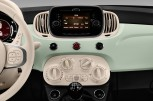 FIAT 500 Lounge -  Mittelkonsole