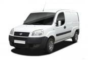 FIAT DOBLO  Front + links, Panel Van, Weiss