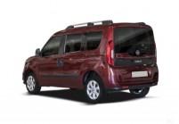 FIAT DOBLO Compactvan / Minivan Avant + gauche, Voiture Station, Bordeaux (rouge foncé)