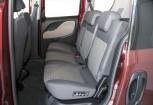 FIAT DOBLO Kompaktvan / Minivan Front + links, Stationwagon, Bordeaux (Dunkelrot)
