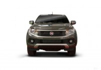FIAT FULLBACK Pick-Up Doppelkabine Front + links, Pick up double cabin, Dunkelgrau