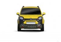 FIAT PANDA Microclasse Avant + gauche, Hatchback, Jaune