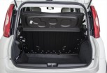 FIAT PANDA Microklasse Front + links, Hatchback, Weiss