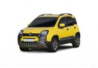 FIAT PANDA Microklasse Front + links, Hatchback, Gelb
