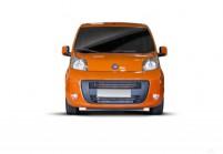 FIAT QUBO Compactvan / Minivan Anteriore + sinistra, Stationwagon, Arancione