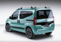 FIAT QUBO Kompaktvan / Minivan Front + rechts, Multi Purpose Vehicle, Hellgrün