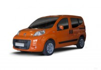 FIAT QUBO Kompaktvan / Minivan Front + links, Stationwagon, Orange