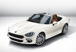 FIAT SPIDER Cabriolet Front + links, Convertible, Weiss