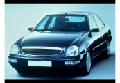 FORD   Front + links, Sedan, Schwarz