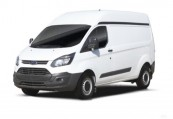 FORD   Front + links, Panel Van, Weiss