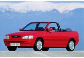 FORD   Avant + gauche, Convertible, Rouge