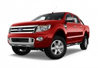 FORD RANGER Pick-Up lang Schrägansicht Front