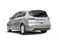 FORD S-MAX Compactvan / Minivan Anteriore + sinistra, Stationwagon, Grigio argento