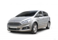 FORD S-MAX Kompaktvan / Minivan Front + links, Stationwagon, Silbergrau