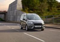 FORD TOURNEO COURIER Kompaktvan / Minivan Front + rechts