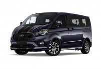 FORD TOURNEO CUSTOM Bus Vue oblique avant