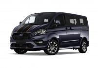 FORD TOURNEO CUSTOM Minibus Vista laterale-frontale