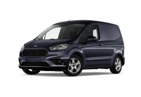 FORD TRANSIT COURIER Minibus Vista laterale-frontale