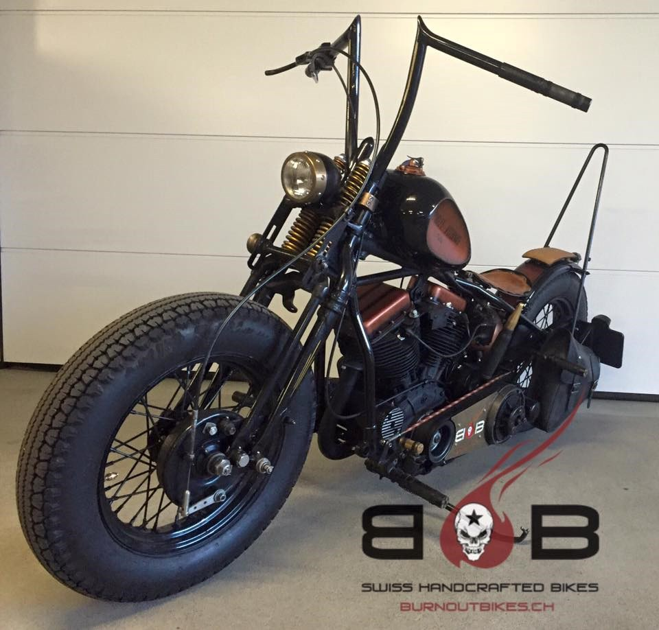 harley davidson fl 1200 panhead oldtimer 100 km chf 58. Black Bedroom Furniture Sets. Home Design Ideas