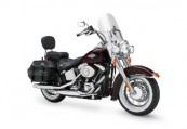 HARLEY-DAVIDSON Softail  Front + rechts, , Bordeaux (Dunkelrot)