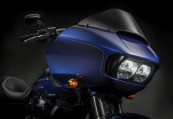 HARLEY-DAVIDSON Touring  Avant + droite, , Bleu