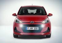 HYUNDAI i10 Microklasse Front + links, Hatchback, Rot