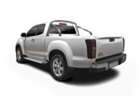 ISUZU D-MAX Pick-Up Doppelkabine Front + links