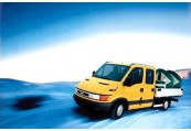IVECO DAILY CITY  Front + links, Gelb