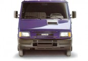 IVECO TURBO-DAILY  Front, Violett