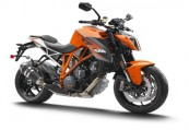 KTM Duke  Front + rechts, , Orange