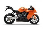 KTM RC  Seite rechts, , Orange